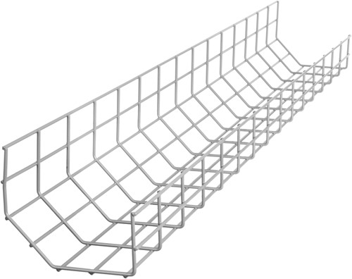 R-Go Tools Steel Basic Kabelgoot, zilver