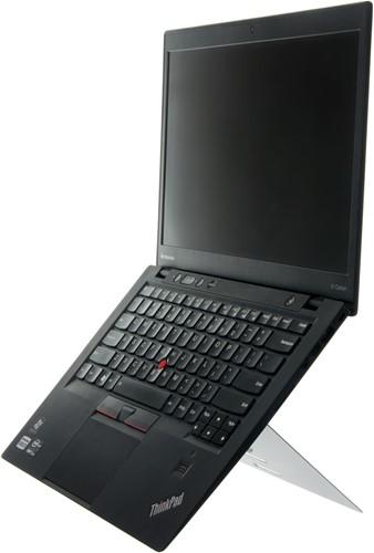 R-Go Tools Riser Attachable Laptopstandaard, geïntegreerd, verstelbaar, wit