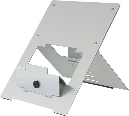 R-Go Tools Riser Laptopstandaard, flexibel, verstelbaar, zilver