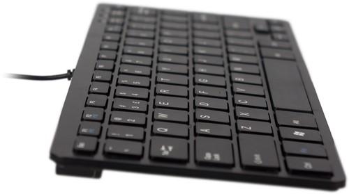 R-Go Tools Compact Toetsenbord, QWERTY(US), zwart, Bedraad-2