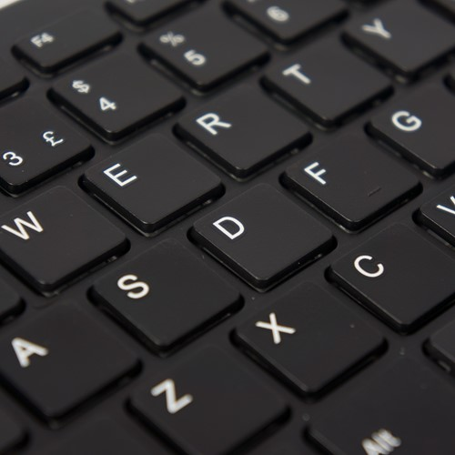 R-Go Tools Compact Toetsenbord, QWERTY(US), zwart, Bedraad-3