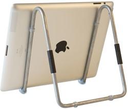 R-Go Tools Easy Tablet Standaard, zilver