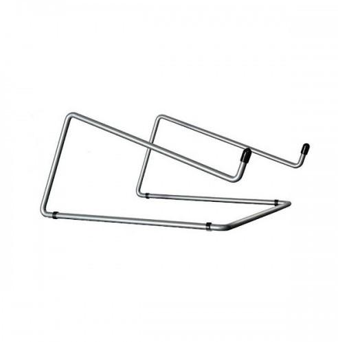 R-Go Tools Steel Laptopstandaard, zilver