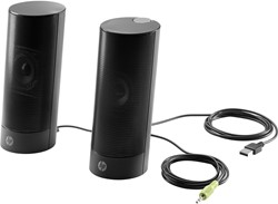 HP USB Business Speakers v2 2W Zwart