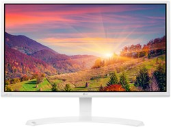 "LG 24MP58VQ-W 23.8"" Full HD LED Mat Flat Wit computer monitor"