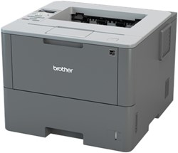 Brother Netwerk Laserprinter 46 ppm - 256 MB - interne duplexunit - LCD display