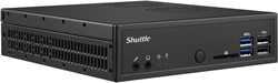 Shuttle DH110 Intel H110 LGA1151 1.3L sized PC Zwart PC/workstation barebone