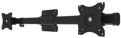 "Newstar FPMA-CB100BLACK 27"" Zwart flat panel muur steun"