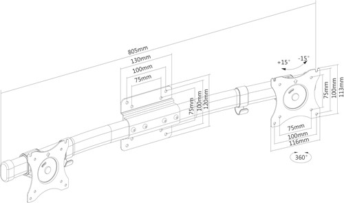 Extra afbeelding voor NEW-FPMA-CB100BLK