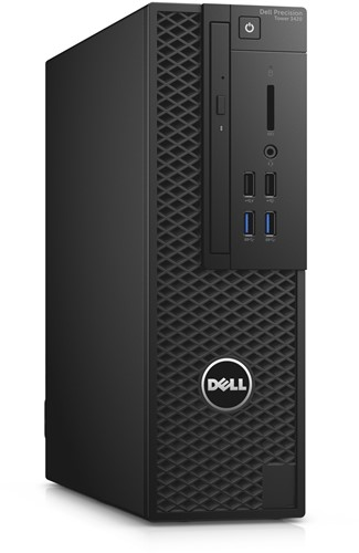 DELL Precision T3420 3.4GHz i7-6700 SFF Zwart Workstation-3
