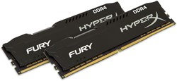 HyperX FURY Memory Black 16GB DDR4 2400MHz Kit 16GB DDR4 2400MHz geheugenmodule