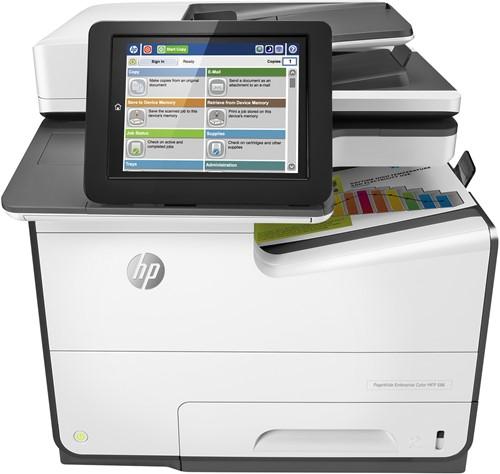 HP PageWide Enterprise Color MFP 586dn Thermische inkjet A4 Grijs