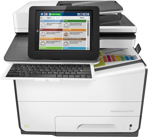 HP PageWide Enterprise Color Flow MFP 586z Thermische inkjet A4 Grijs
