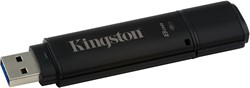 Kingston Technology DataTraveler 4000G2 with Management 8GB 8GB USB 3.0 Zwart USB flash drive