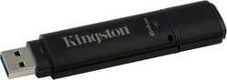Kingston Technology DataTraveler 4000G2 with Management 64GB 64GB USB 3.0 Zwart USB flash drive