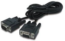 APC INTERFACE CABLE 3m Zwart netwerkkabel