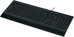 Logitech K280e USB Zwart toetsenbord