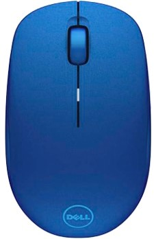 DELL WM126 RF Draadloos Optisch 1000DPI Ambidextrous Blauw muis