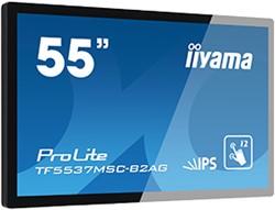 "iiyama ProLite TF5537MSC-B2AG 55"" 1920 x 1080Pixels Multi-touch Tafel Zwart touch screen-monitor"