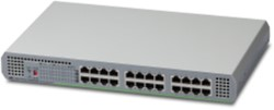 Allied Telesis AT-GS910/24-50 Unmanaged Gigabit Ethernet (10/100/1000) Grijs