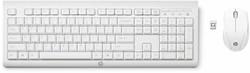 HP C2710 Combo Keyboard RF Draadloos QWERTY Engels Wit