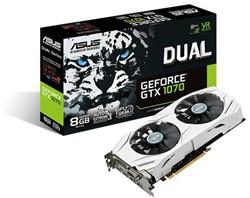 ASUS DUAL-GTX1070-8G GeForce GTX 1070 8GB GDDR5 videokaart