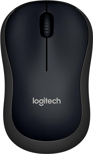 Logitech B220 Silent RF Draadloos Optisch 1000DPI Ambidextrous Zwart muis