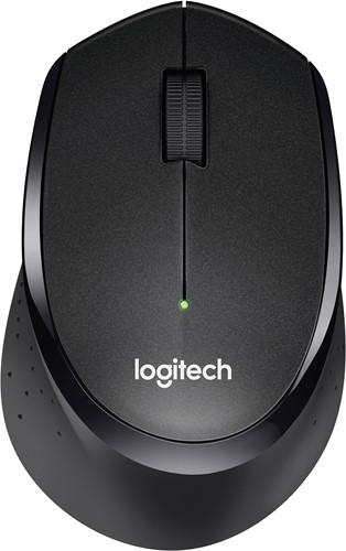 Logitech B330 Silent Plus RF Draadloos Optisch 1000DPI Rechtshandig Zwart muis
