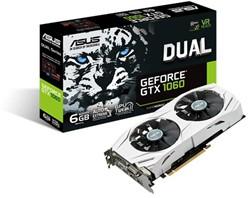 ASUS DUAL-GTX1060-6G GeForce GTX 1060 6GB GDDR5 videokaart