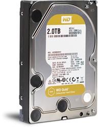 Western Digital Gold 2000GB SATA III interne harde schijf
