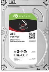 Seagate NAS HDD IronWolf 3TB 3000GB SATA III interne harde schijf