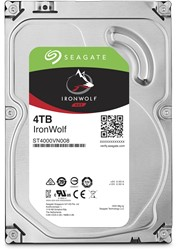 Seagate NAS HDD IronWolf 4TB 4000GB SATA III