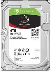 Seagate NAS HDD IronWolf 6TB 6000GB SATA III interne harde schijf