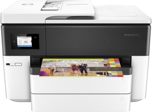 HP OfficeJet Pro 7740 Wide Format AiO Thermische inkjet A3 Wi-Fi Zwart, Wit