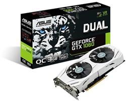 ASUS DUAL-GTX1060-O3G GeForce GTX 1060 3GB GDDR5 videokaart