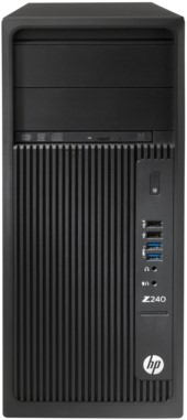 HP Z Z240 TWR 3.4GHz i7-6700 Toren Zwart-2