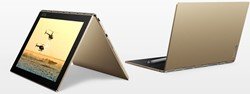 "Lenovo YOGA Book Goud Hybride (2-in-1) 25,6 cm (10.1"") 1920 x 1200 Pixels Touchscreen 1,44 GHz Intel® Atom™ x5-Z8550"