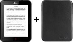Icarus Bundel van de Illumina E654BK e-reader met zwarte beschermhoes C020MB