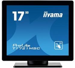 "iiyama ProLite T1721MSC-B1 17"" 1280 x 1024Pixels Multi-touch Tafelblad Zwart touch screen-monitor"