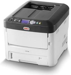 OKI C712n Kleur 1200 x 600DPI A4 Wit