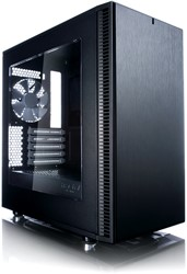 Fractal Design Define Mini C Mini-Toren Zwart computerbehuizing