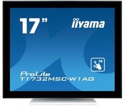 "iiyama ProLite T1732MSC-W1AG 17"" 1280 x 1024Pixels Multi-touch Zwart, Wit touch screen-monitor"