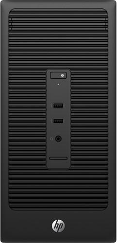 HP 200 285 G2 MT 3.9GHz A6-6400B Micro Tower Zwart