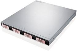Fujitsu CELVIN NAS QR806 NAS Rack (1U) Ethernet LAN Zwart, Zilver