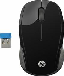 HP 200 RF Draadloos Optisch 1000DPI Ambidextrous Zwart muis