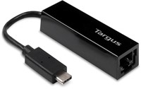 Targus ACA930EUZ USB C RJ-45 Zwart kabeladapter/verloopstukje
