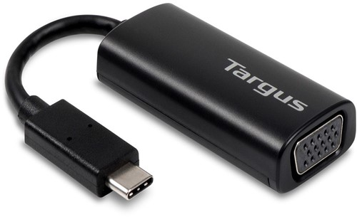 Targus ACA934EUZ 0.17m USB C VGA (D-Sub) Zwart video kabel adapter