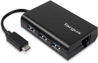 Targus ACH230EUZ USB 2.0 Zwart hub & concentrator