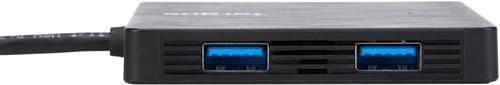 Targus ACH924EU USB 3.0 (3.1 Gen 1) Type-A 5000Mbit/s Zwart hub & concentrator-3