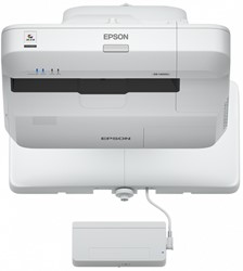 Epson EB-1460UI Projector met wandmontage 4400ANSI lumens 3LCD WUXGA (1920x1200) Wit beamer/projector